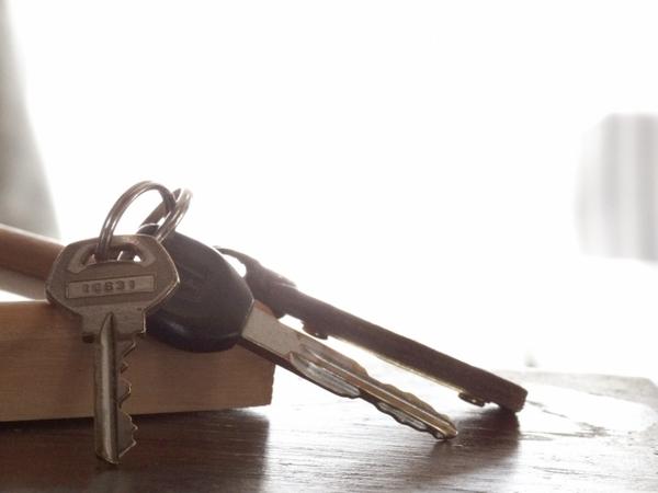 アパートの鍵