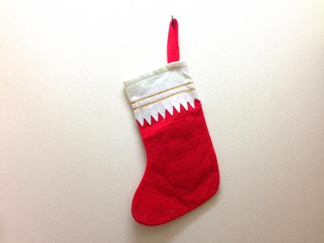 ブログ記事画像_サンタさんへのお願い靴下