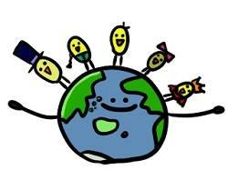 ブログ記事画像_地球上の人たち