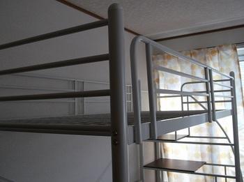 ブログ記事画像_ロフトベッド_ベッド部分写真