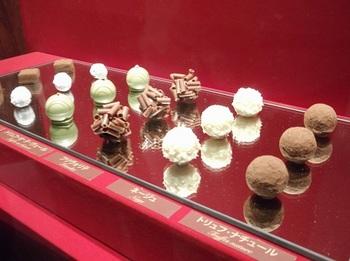 チョコレート展_世界のチョコレート