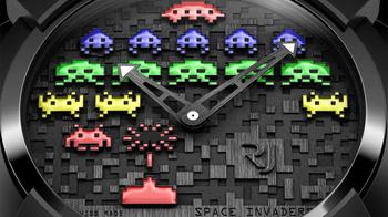 スペースインベーダー腕時計