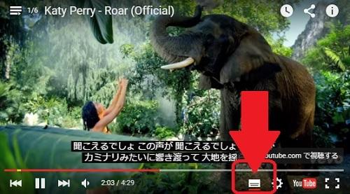 youtube_字幕_画面