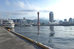 ブログ記事画像_寄港するクルーズ船