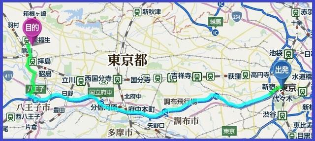横田基地_自動車ルートマップ