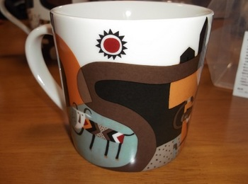 KALDI_やぎべぇマグカップ