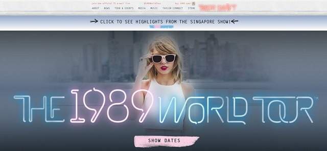 Taylor Swift_Official Site